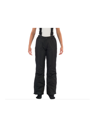 Ženske smučarske hlače Hyra Easy line - črne