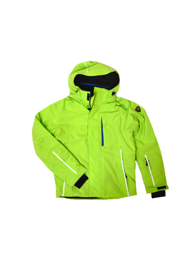 Moška smučarska jakna HYRA Eriz Universal - limeta