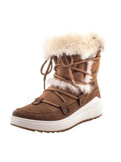LHOTSE 8516m IQALUIT ženski vodoodporni zimski čevlji - rjavi
