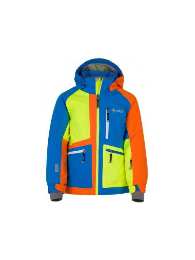 Smučarska fantovska jakna Kilpi Jackyl - zelena/modra