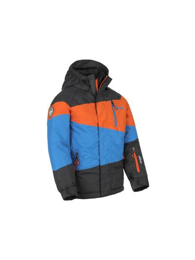 Smučarska fantovska jakna Kilpi Kally - modra/črna/oranžna