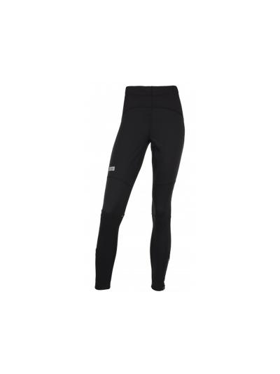 Ženske hlače za tek na smučeh KARANG - črne
