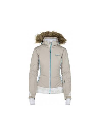 Smučarska ženska jakna Kilpi VERA - Bež