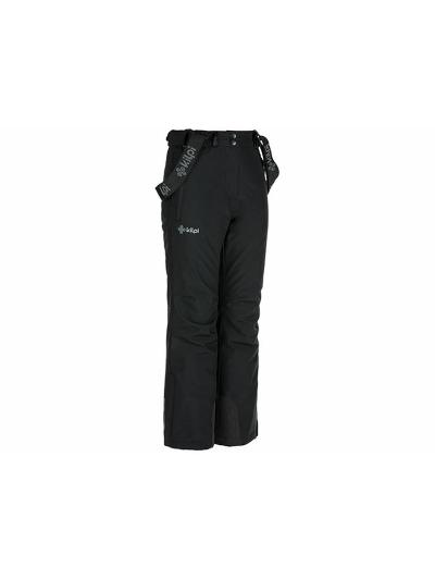 Otroške smučarske hlače Kilpi EUROPA - Črne