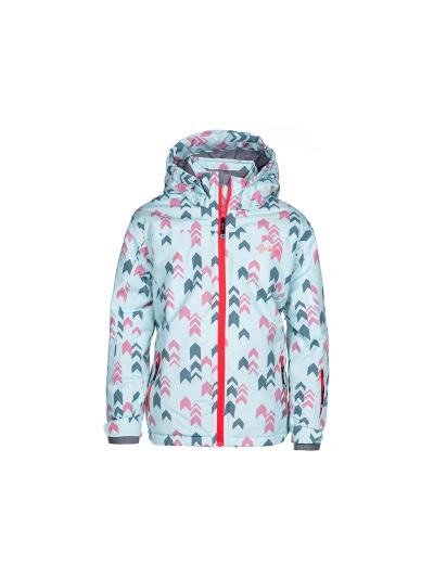 Otroška smučarska jakna Kilpi JENOVA - mint/roza