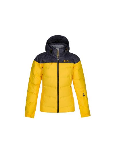 Ženska smučarska jakna Kilpi BUFFY - rumena