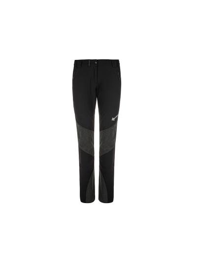 Ženske zimske pohodiške hlače Kilpi NUUK - črne