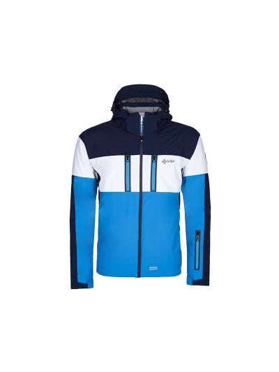 Moška smučarska jakna Kilpi SATTL - modra/bela