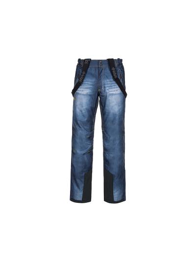 Moške jeans smučarske hlače Kilpi DENIMO - modre