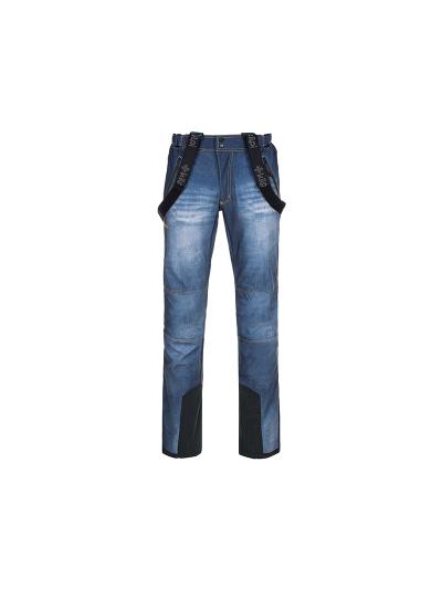 Moške smučarske jeans hlače KILPI JEANSO - modre