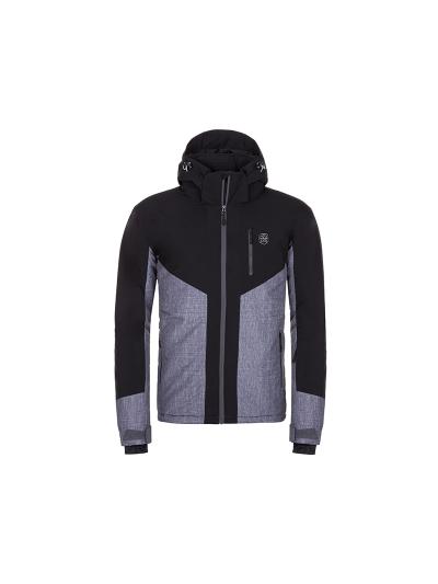 Moška smučarska jakna Kilpi TAUREN - črna/siva