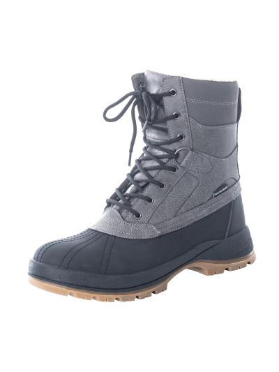 LHOTSE 8516m Kunlun moški vodoodporni zimski čevlji - sivi