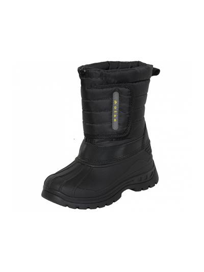 LHOTSE 8516m Zabore otroški vodoodporni zimski čevlji - črni