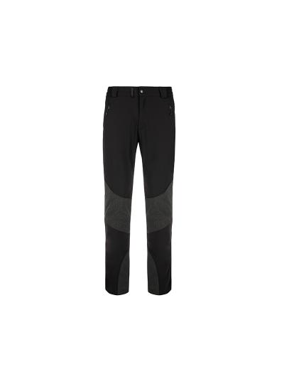Moške zimske pohodiške hlače Kilpi NUUK - črne