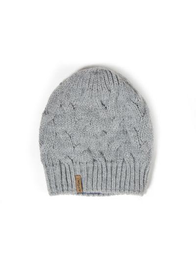 Ženska zimska kapa NORTON 7662 - siva