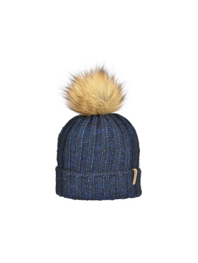 Ženska zimska kapa NORTON 8313K - temno modra