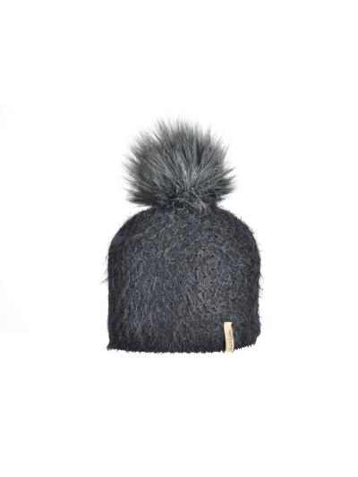 Ženska zimska kapa NORTON 8386K - črna