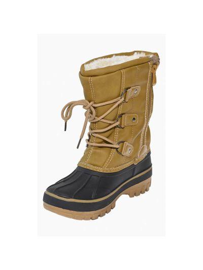 Otroška zimska obutev LHOTSE 8516m OPI - rjavi