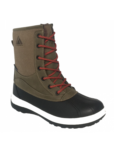 LHOTSE 8516m Papou moški vodoodporni zimski čevlji - temno zeleni