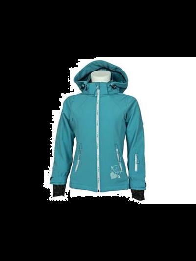 Dekliška smučarska jakna O'STYLE Softshell - turkizne barve