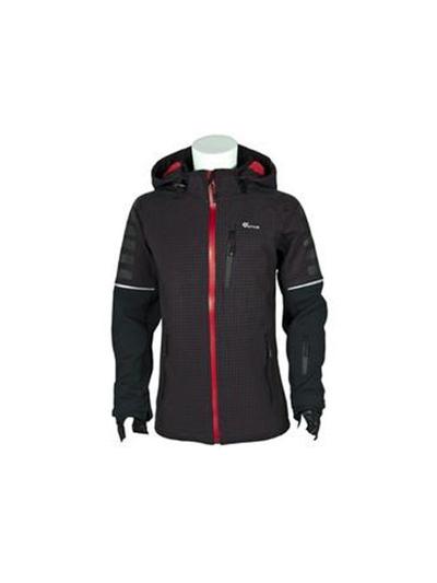Fantovska softshel jakna O'STYLE - črna