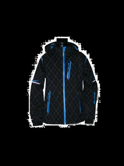 Otroška softshell jakna O'STYLE RACE LINE - črno-modra
