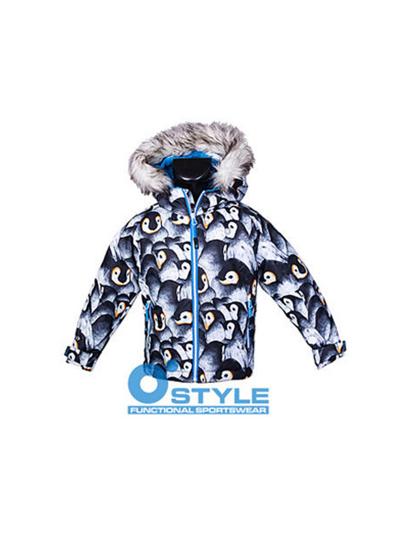 Otroška smučarska jakna O'STYLE - pingvin