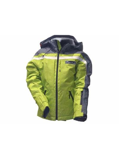 Otroška smučarska jakna O'STYLE LAUTUS - zelena