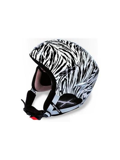 Smučarska čelada SH+ SH10 special edition HUMP - zebra