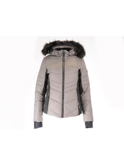 Ženska smučarska jakna SPH Sportsphere ARE II Fashion 5000 - rjava