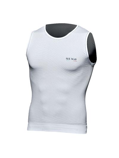 SIXS RUN1 Majica brez rokavov, top - bela