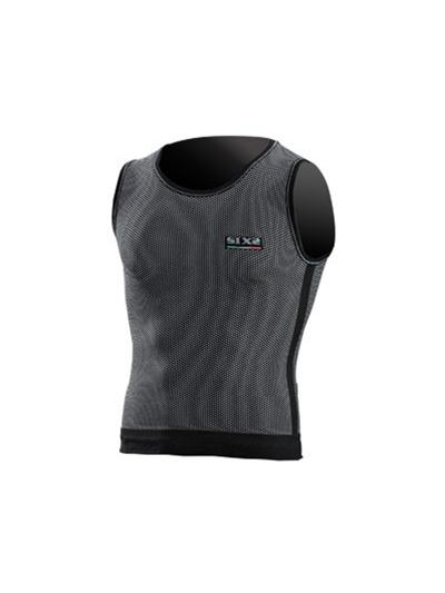 Majica brez rokavov - top SIXS RUN1 carbon