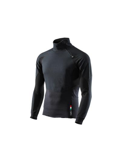 SIXS Winter Tourism zimska majica - črna (velikost M)