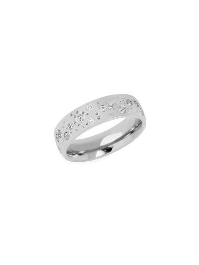 Ženski prstan MIA Constellation - srebrn