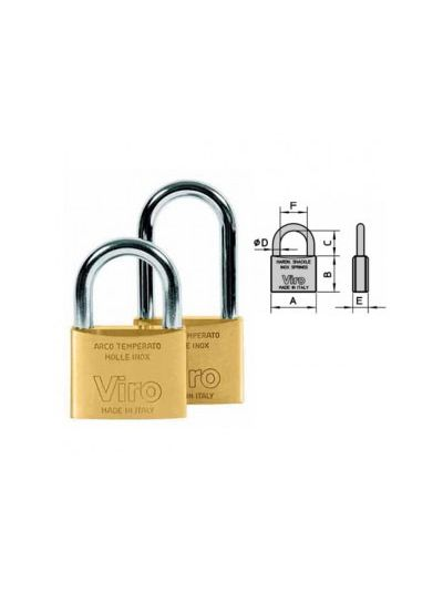 VIRO 303 Ključavnica na ključ | 28x30 mm