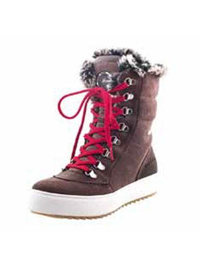 Ženska zimska obutev LHOTSE 8516m HALIFAX - rjava