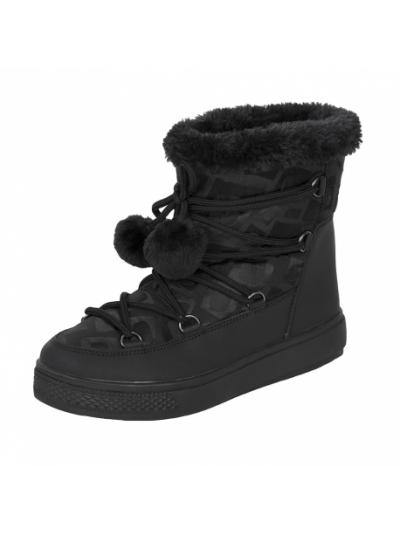 LHOTSE 8516m Zimina ženski vodoodporni zimski čevlji - črni