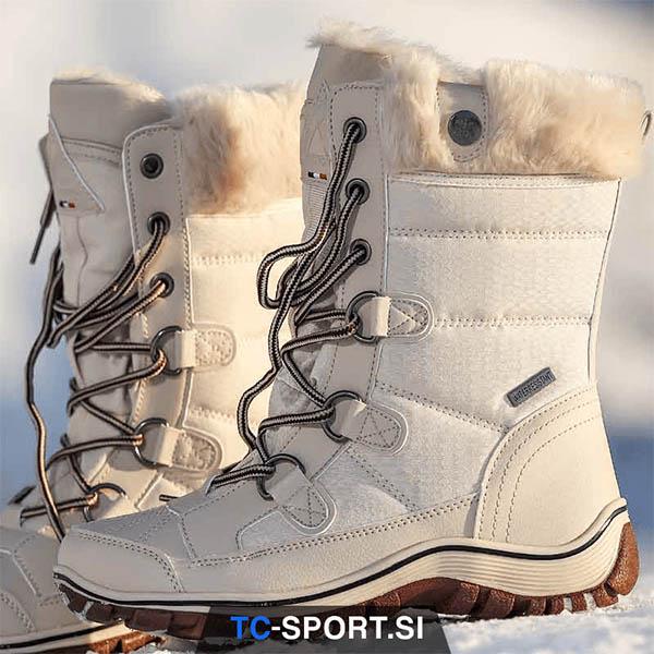 Zimska obutev za snežne radosti